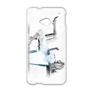 HTC One M7 Cell Phone Case , Fashion Lady Theme Custom Phone Case