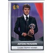 2016-17 Panini NHL #7 Calder Trophy Winner ~ Artemi Panarin 2015-16 NHL Awards Hockey Sticker
