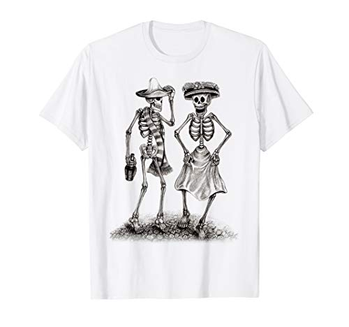 Couples Sugar Skeleton Scary Costume Gifts For Man & Women -