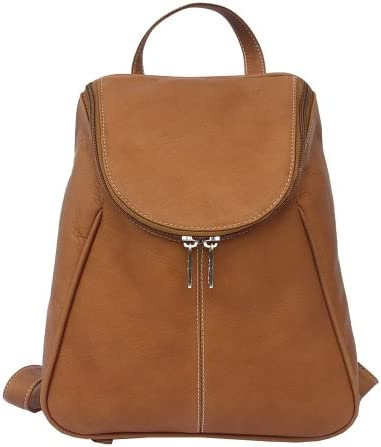 Piel Leather U-Zip Backpack