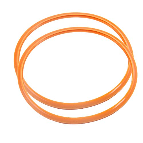 - uxcell Pressure Cooker Sealing Ring, 28cm Silicone Rubber Gasket Sealing Ring for Pressure Cookers, Set of 2