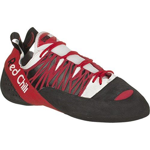 Kletterschuhe bianco nero rosso Chili Red RFwa77