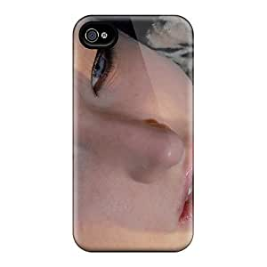 For Iphone 4/4s Premium Tpu Case Cover Beauty Eyes Protective Case by Maris's Diary