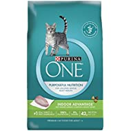 Purina ONE Indoor Advantage Adult Premium Cat Food, 16 Pound
