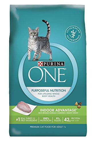 Purina ONE Dry Cat Food Indoor Advantage 16-Pound Bag Pack of 1