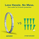 Bayer Seresto Flea and Tick Collar for Large Dog, 8 Month Protection