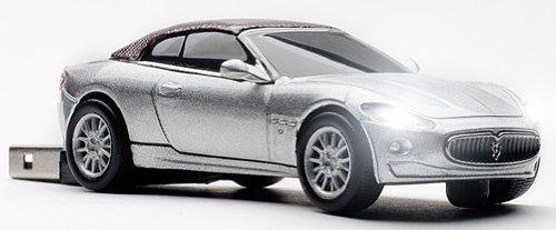 Click Car Maserati GranCabrio 8GB USB memory Stick in Silver CCS660233 by Click Car