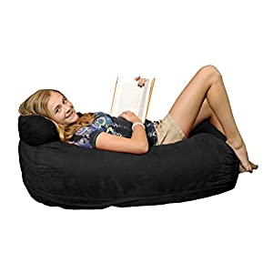 Chill Sack Memory Foam Bean Bag Lounger, Lime