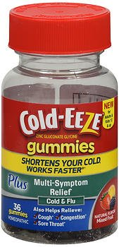 Cold-Eeze Plsmulti Symptm Size 36ct Cold-Eeze Plus Multi Symptom Relief Gummies 36ct