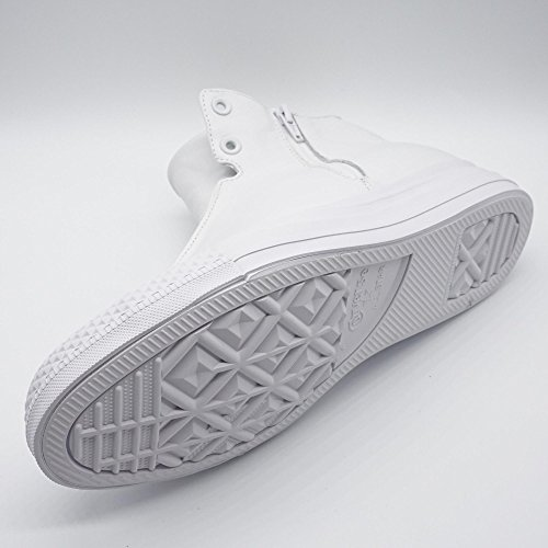 Converse CTAS Selene Monochrome Leather Damen High-Top Sneaker Weiß