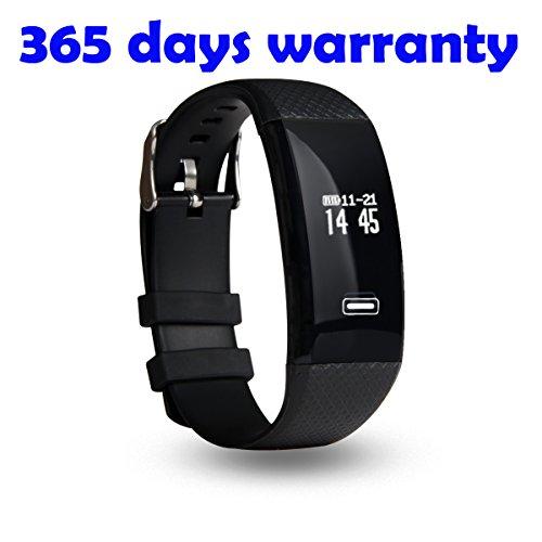 SEFREE Smart Bracelet Fitness Tracker Wristband with Hear...