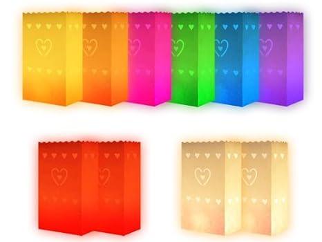 Trendmaus.de - Lote de 10 bolsas de papel para velas ...