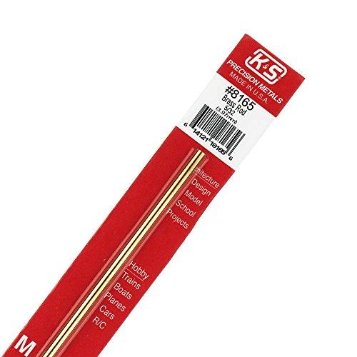K & S PRECISION METALS 8165 5/32 x 12 SB Rod