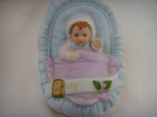 Birthday Growing Up Girls Baby in Cradle Brunette 3.5