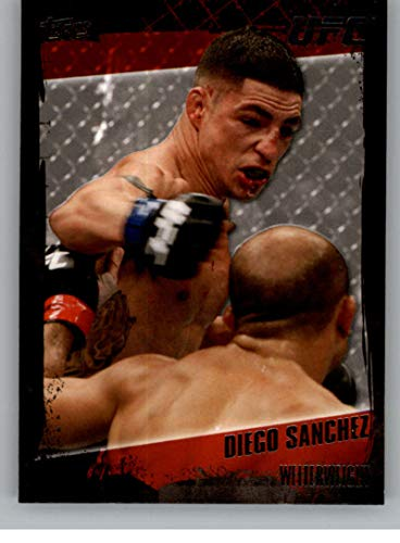 (2010 Topps UFC MMA #83a Diego Sanchez Official Ultimate Fighting Championship Trading Card)