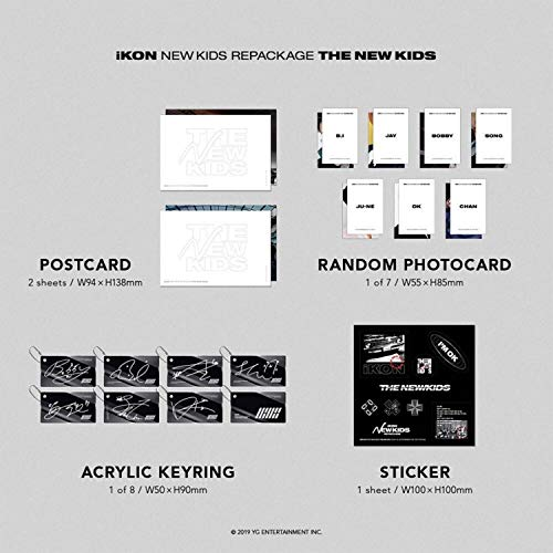 IKON - YG Ent  - IKON New Kids Repackage Album - THE NEW