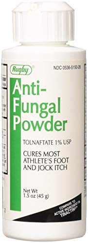 (Rugby Tolnaftate Anti-Fungal Powder 45 g (Pack of 2))
