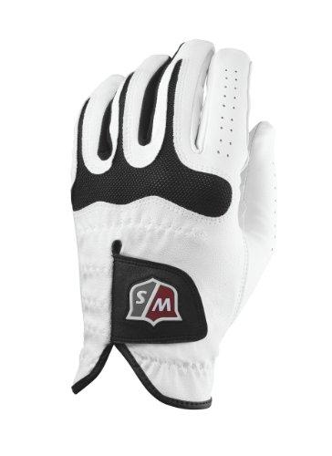 Wilson Staff Grip Soft Mesh Golf Glove, Medium, Right Hand