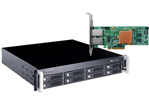 HighPoint RocketStor 6422AS 2U 8-Bay Hardware RAID Class Rackmount Enclosure Solution by High Point (Image #4)