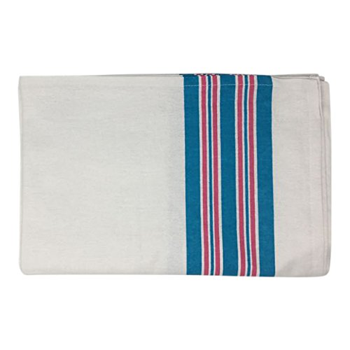 Pack of 6 Personal Touch 100% Cotton, Baby Hospital Receiving Blankets, Swaddle Blankets, Warm and Cozy, 30x40, Stripe