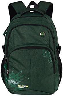 HZH Lightweight Waterproof Shoulder Bag Backpack Students Pure Color Backpack