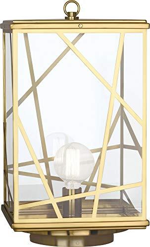 Abbey Post Lantern - Robert Abbey 538 One Light Post Lantern Convertible to Pier Mount