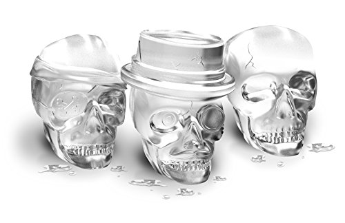 Tovolo Skull Ice Molds - Set of 3 (Tovolo Ice Cube compare prices)