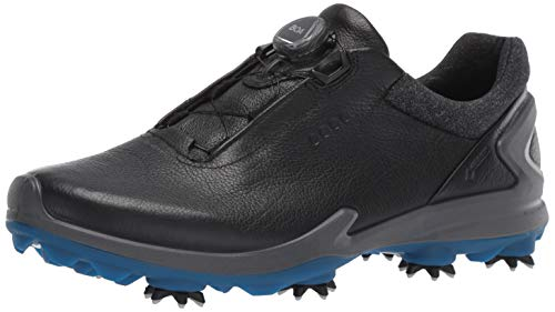ECCO Men's Biom G3 BOA Gore-TEX Golf Shoe, Black Yak Leather, 12 M US ()