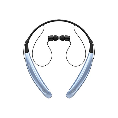 UPC 815425021444, LG - TONE Pro HBS-770 In-Ear Behind-The-Neck Mount Wireless Headphones - Blue