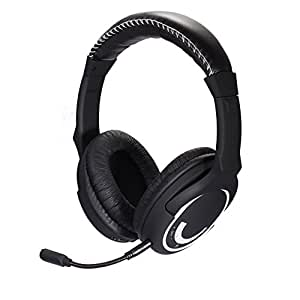 HUHD 2.4Ghz Wireless Gaming Headset Stereo Sound for PS4, PS3, Xbox 360 and PC Detachable Microphone Noise Cancelling