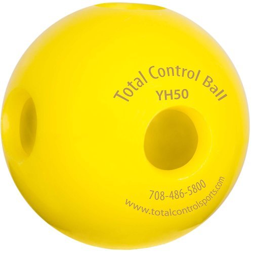 Total Control Training Mini Hole Golf Ball 5.0 (Multi Pack) (Total Control Sports Mini Size Hole Batting Ball)