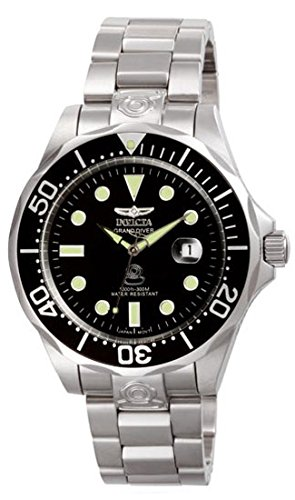 Invicta Men's 3044 Stainless Steel Grand Diver Automatic Watch by Invicta