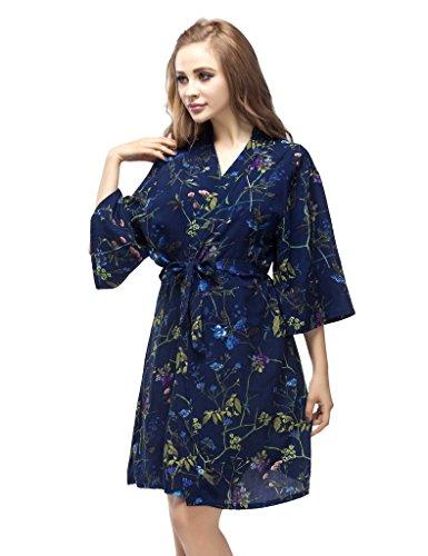 Skyfitting Womens Cotton Kimono Bridesmaid product image