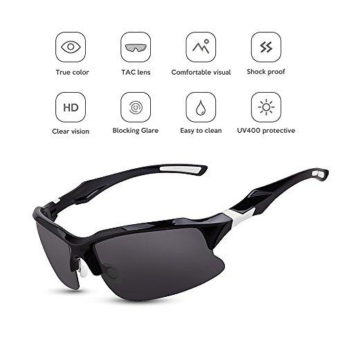 5fefea92f5 85% OFF Lixada Gafas de Bicicleta Deportes Lentes de Sol Lente Polarizada  UV para Pesca