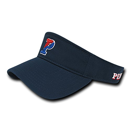 (University of Pennsylvania Penn Quakers Cotton Polo Sun Golf Tennis Visor Cap Hat)