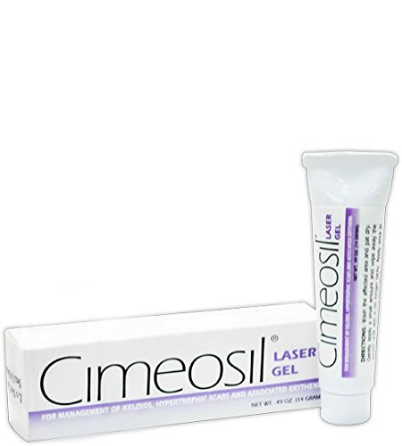 Cimeosil Laser Gel, 14 gram tube - Scar Treatment For Keloid and Hypertrophic (14g Laser)