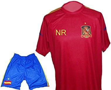 España camiseta + pantalón con nombre + número niño 128: Amazon.es ...