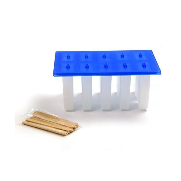 Stampo ghiaccioli Norpro Plastica da 10 Nuovo 7 spesavip