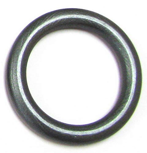 Linpeng Wood Loops/Wooden Rings for Craftwork/DIY Jewelry/Ring Pendant/Jewelry making Connectors/Ring size 68mm, thickness 8mm/ Charcoal Silvery Grey / -