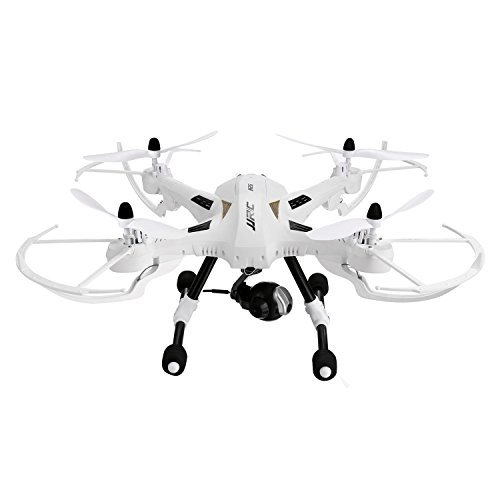 Coocheer JJRC H26W RC Quadcopter Drone with 2.0 MP camera WiFi Headless Mode One Key Return 4 CH 2.4 G 6-Axis Gyro Color White [US in stock]