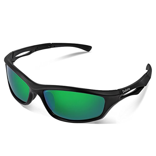 Duduma Polarized Sports Sunglasses for Running Cycling Fishing Golf Tr90 Unbreakable Frame - Sunglasses Sports For Men