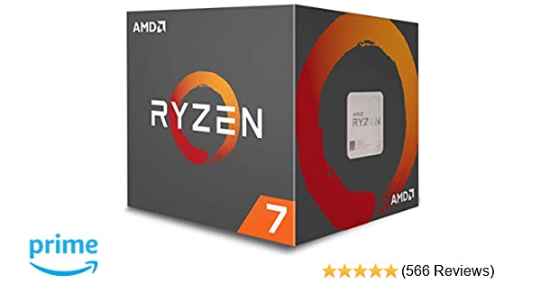 197b0ad6d9 Amazon.com  AMD Ryzen 7 1700 Processor with Wraith Spire LED Cooler  (YD1700BBAEBOX)  Computers   Accessories