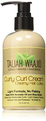 Taliah Waajid Curly Cream Hair Lotion, 8 Ounce