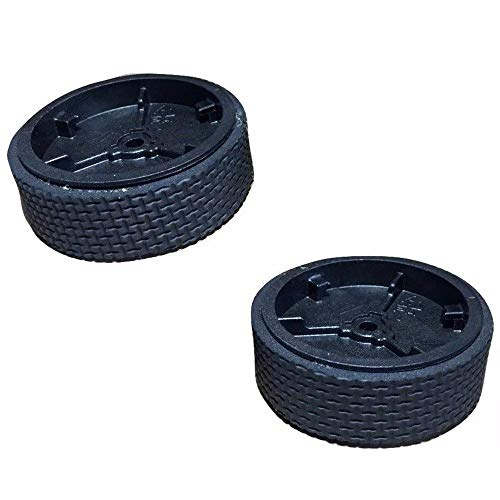WyFun Replacement Wheel Tire//Tyre Compatible for Mint 5200C 5200 4200 4205 Braava Cleaner 321 380 320 380t Vacuum Cleaner Robot 2pcs