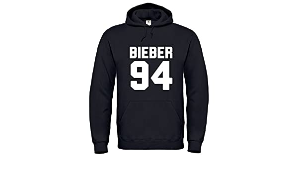 Justin Bieber Merchandise / Justin Bieber / Bieber 94 / Hoodie / Pull / Sudadera / HD2 (XL, Negro): Amazon.es: Ropa y accesorios