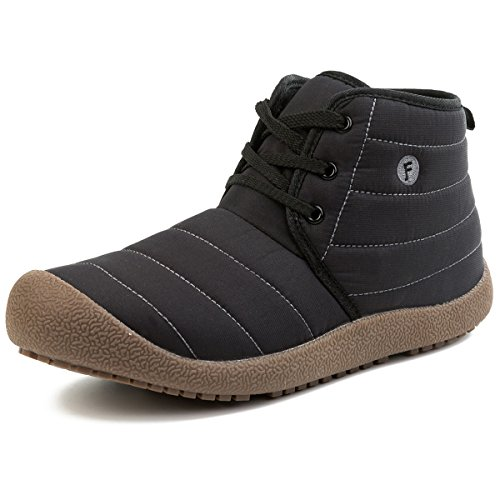 JIASUQI Women's Classic Athletic Boot Waterproof Outdoor Walking Shoes Black