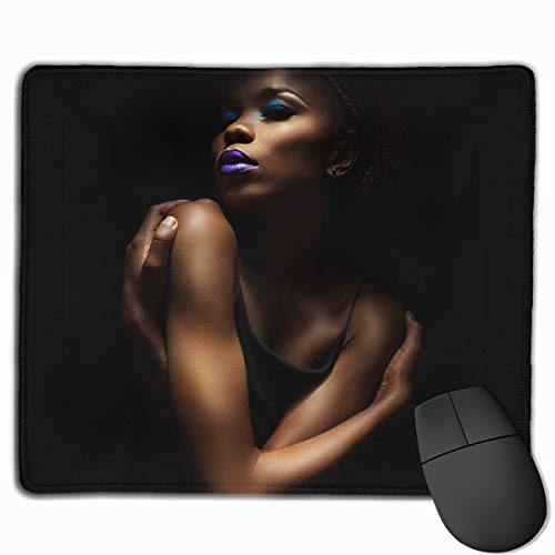 Cool Secy African Women Non-Slip Rubber Mouse Mat Mouse Pad for Desktops, Computer, PC and Laptops (9.8'' X -