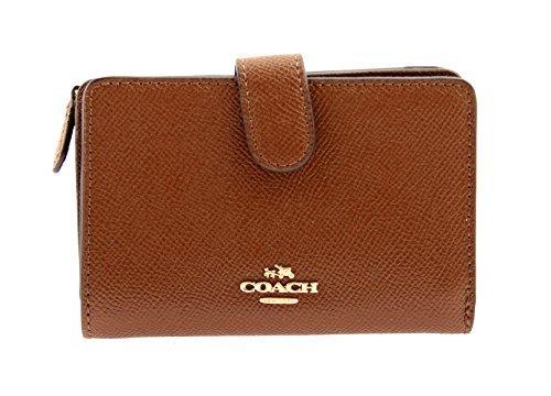 COACH Medium Corner Zip Wallet In Crossgrain Leather, F11484