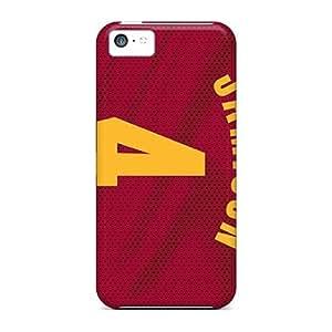 Excellent Design Cleveland Cavaliers Phone Cases For Iphone 5c Premium Tpu Cases