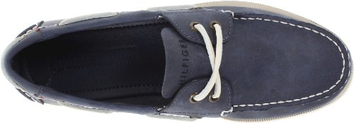 Tommy Hilfiger Men's Bowman Boat shoe, Navy, 13 M US